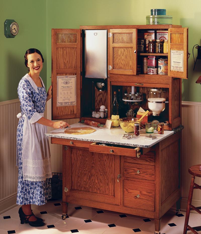 Hoosier Cabinet   Homestead Style